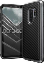 X-Doria Defense Lux Carbon Galaxy S9 Plus Back Cover Zwart
