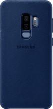 Samsung Galaxy S9 Plus Alcantara Back Cover Blauw