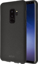 Azuri Flexible Sand Galaxy S9 Plus Back Cover Zwart