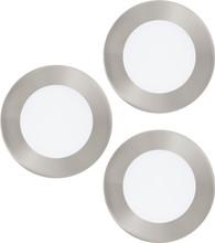 Eglo Connect Fueva-C Spot 3 stuks Zilver