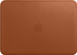 "Apple MacBook 12"" sleeve Saddle Brown"