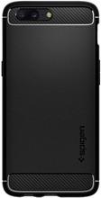 Spigen Rugged Armor OnePlus 5 Back Cover Zwart
