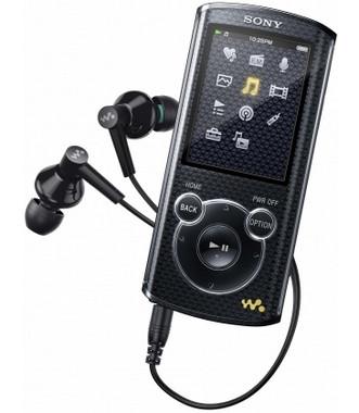Sony NWZ-E463 4 GB Zwart