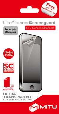 Mitu Screenprotector Apple iPhone 4/4S Duo Pack