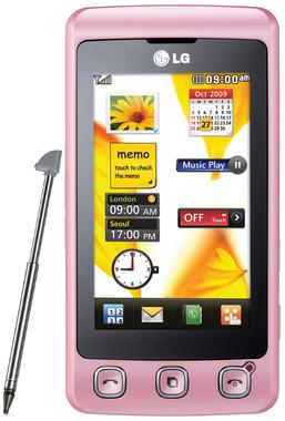 LG KP500 Cookie Pink