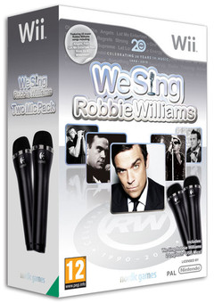 We Sing Robbie Williams Wii + 2 Microphones