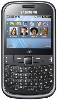 Samsung Ch@t 335 Vodafone Prepaid  Zwart
