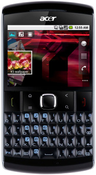 Acer BeTouch E210 QWERTY Black