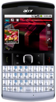 Acer BeTouch E210 QWERTY Silver