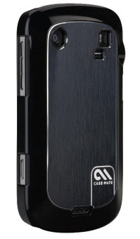Case-Mate Barely There Brushed Aluminum Black BB Bold 9900