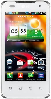 LG Optimus 2X Speed White