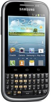 Samsung Galaxy Chat Zwart AZERTY