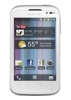 Alcatel OT-991 Prepaid KPN White