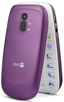 Doro PhoneEasy 607 senioren telefoon paars