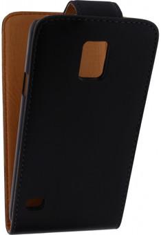 Xccess Leather Flip Case Samsung Galaxy S5 Zwart