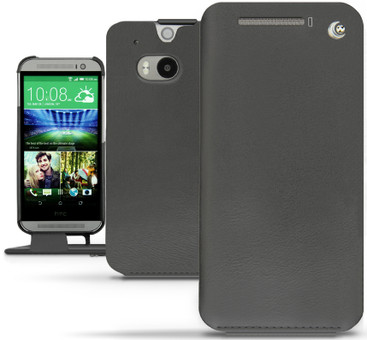 Noreve Tradition Leather Case HTC One M8 Zwart