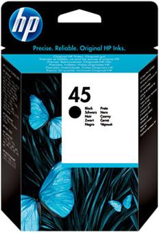 HP 45 Cartridge Zwart (51645GE)