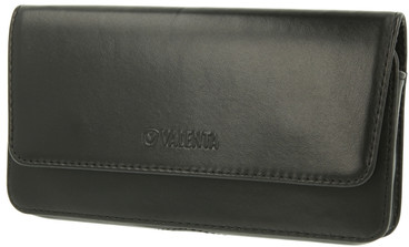 Valenta Leather Case Arezzo 5XL Zwart