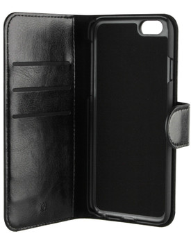 Xqisit Wallet Case Eman Apple iPhone 6/6s Zwart