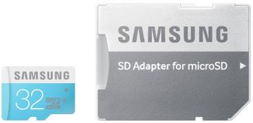 Samsung microSDHC 32 GB + SD Adapter