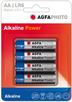 Agfa Photo 4x AA batterijen
