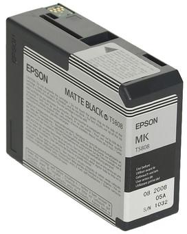 Epson T580800 Matte Black Ink Cartridge (mat zwart) C13T580800