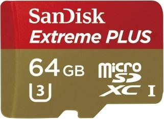 SanDisk MicroSDXC Extreme Plus 64GB 95MB/s Class 3