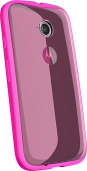 Motorola Moto E 4G Grip Shell Roze