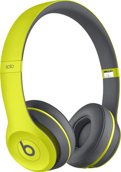Beats Solo 2 Wireless Geel/Grijs
