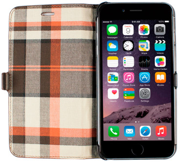 Imoshion Moyland Book Case Apple iPhone 6 Plus/6s Plus Bruin