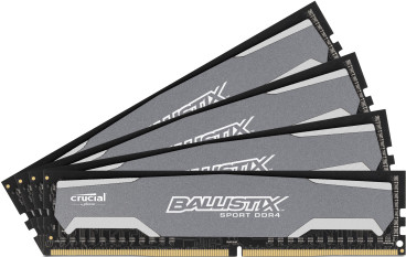 Crucial Ballistix Sport 32 GB DIMM DDR4-2400 4 x 8 GB