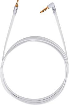 Oehlbach i-Jack 2,5 mm naar 3,5 mm Kabel 1,5 Meter Wit