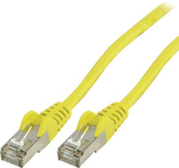 Valueline Netwerkkabel UTP CAT5e 20 meter Geel