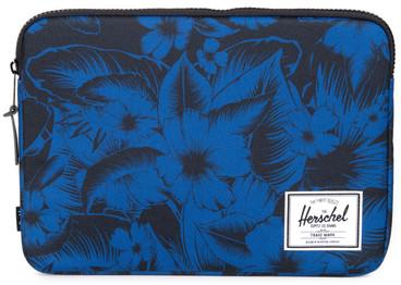 Herschel Anchor Sleeve voor 13'' Macbook Jungle Floral Blue