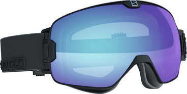 Salomon Xmax Black + Photochromic Blue Lens