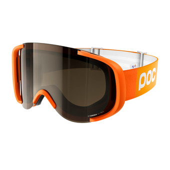 POC Cornea NXT Photo Zink Orange + Bronze Photo Silver