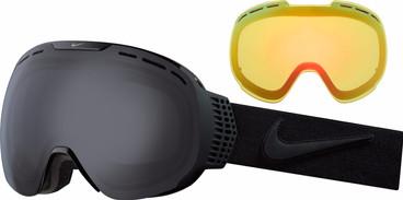 Nike Command Black Black + Dark Smoke & Yellow Red Ionized Lenzen