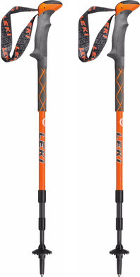 Leki Carbonlite Orange/White 135 cm
