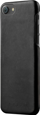 Mujjo Leather Case Apple iPhone 7/8 Zwart