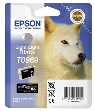 Epson T0969 Grey Ink Cartridge (grijs) C13T09694010