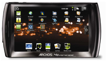 Archos 48 500 GB + Thuislader