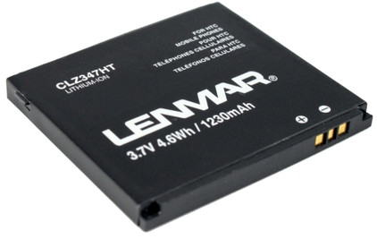 Lenmar Battery HTC HD2 1230 mAh + Thuislader