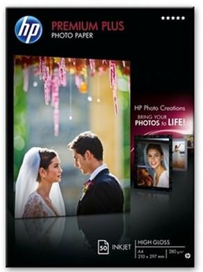 HP Premium Plus High Gloss Fotopapier 50 Vel A4 (300 g/m2)