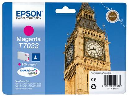 Epson T7033 Cartridge Magenta L (C13T70334010)