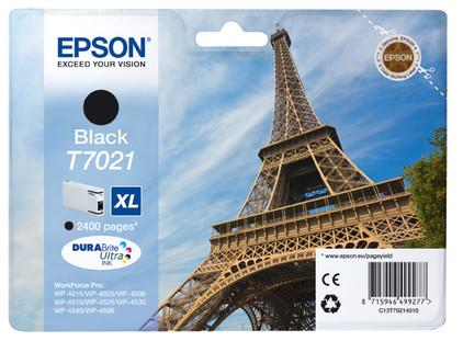 Epson T7021 Cartridge Zwart XL (C13T70214010)