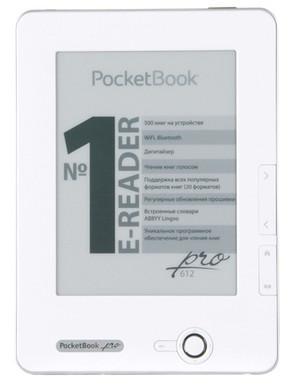 PocketBook 612 eReader Matte White + Thuislader