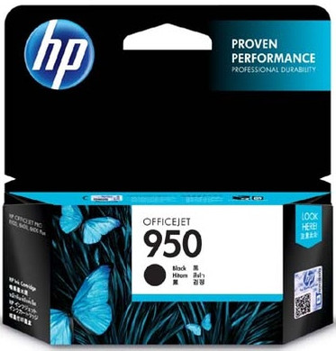HP 950 Officejet Cartridge Zwart (CN049AE)