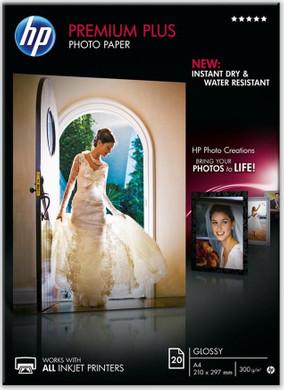 HP Premium Plus Glossy Fotopapier 20 vel (A4)