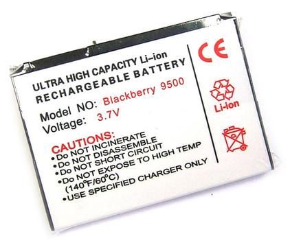 Veripart Battery DX-1 Blackberry 8900/9500/9530 + Thuislader