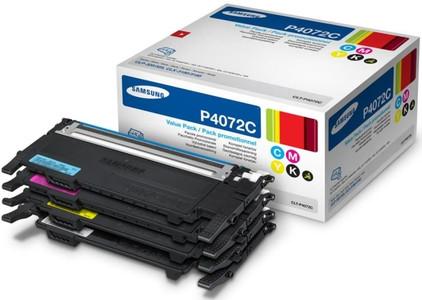 Samsung CLT-P4072C Rainbow Kit + Toner Zwart